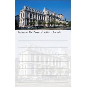 Blocnotes Bucuresti Palatul de Justitie