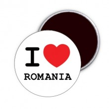 "Magnet ""I love Romania"""