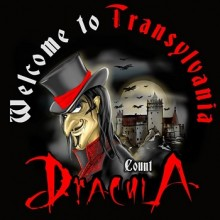 Tricou Dracula - Welcome to Transylvania