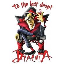 Tricou Dracula - To the last drop