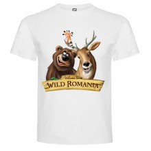 "Tricou copii ""Welcome to wild Romania"""