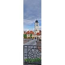 Suvenir semn de carte Sibiu Turnul Sfatului