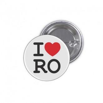 Insigna I Love RO