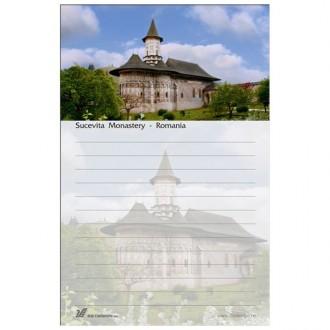 Blocnotes Manastirea Sucevita