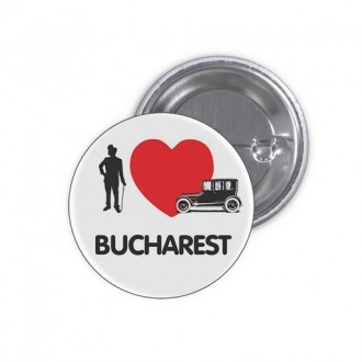 "Insigna ""I Love Bucharest"""