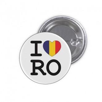 """Insigna """"I Love RO"""""""