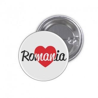 """Insigna """"Love Romania"""""""