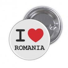 "Insigna ""I love Romania"""