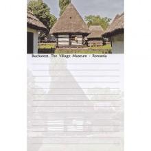 Blocnotes Muzeul Satului Bucuresti