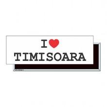 "Magnet ""I Love Timisoara"""