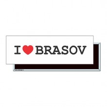 "Magnet ""I Love Brasov"""