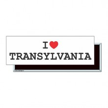 "Magnet ""I Love Transylvania"""