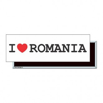 "Magnet ""I Love Romania"""