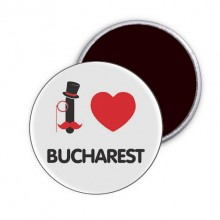 "Magnet ""I Love Bucharest"""