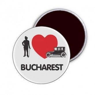 """Magnet """"I Love Bucharest"""""""