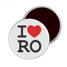 """Magnet """"I Love RO"""""""