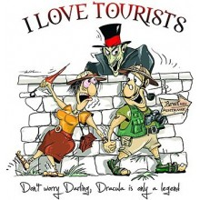 Tricou Dracula - I Love Tourists