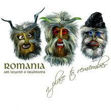 Tricou Romania Masti Traditionale